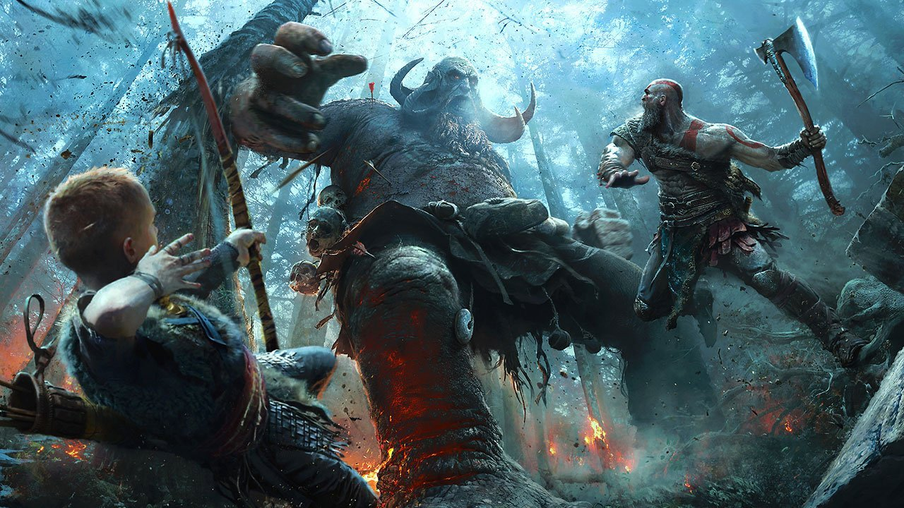 <b> 2. God of War </b> <br /> <br /> God of War shows an obvious level of care that went into crafting its world, characters, and gameplay, delivering by far the most stirring and memorable game in the series.