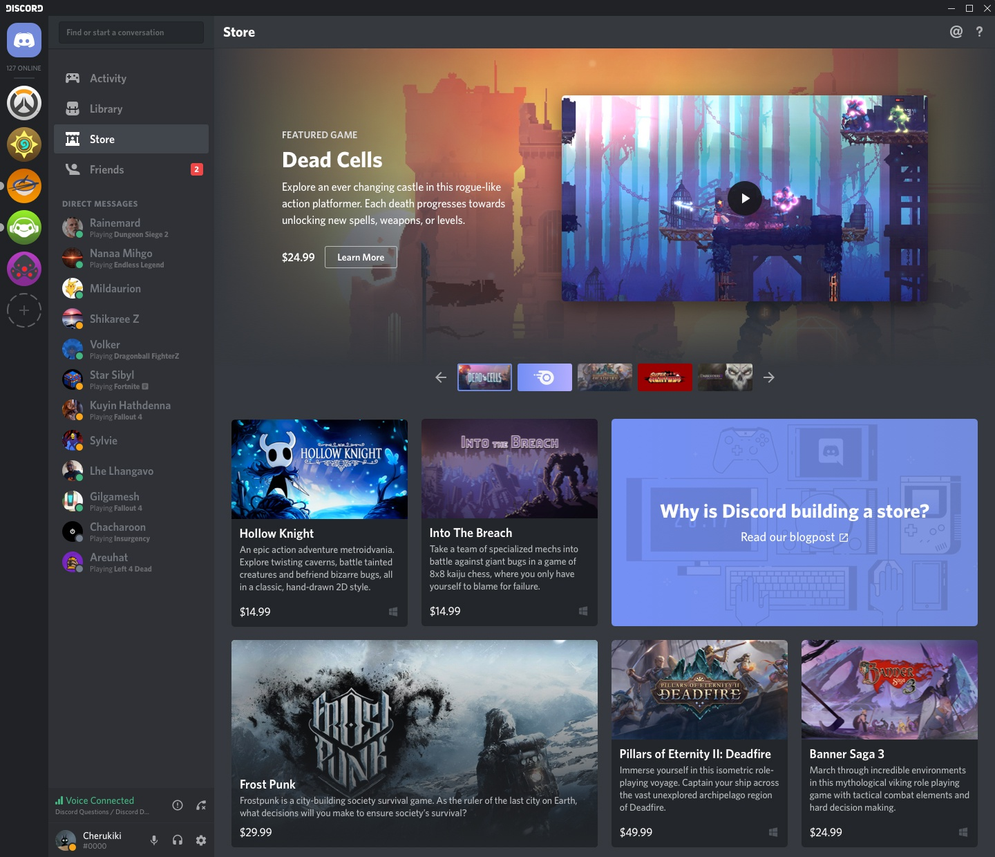 Discord Launches Store Beta to 50,000 Canadian Users
