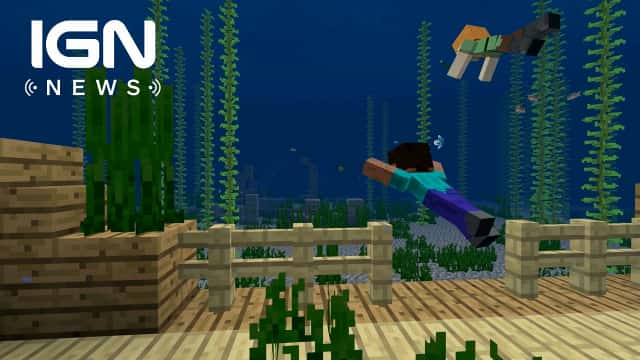 Minecraft Launches Aquatic Phase Two Update - IGN News